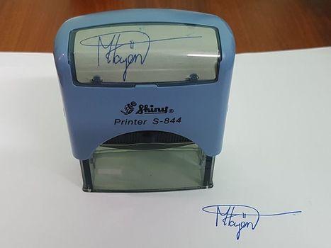 Cửa hàng khắc dấu chữ ký nhanh uy tín, chuyên nghiệp tại TPHCM